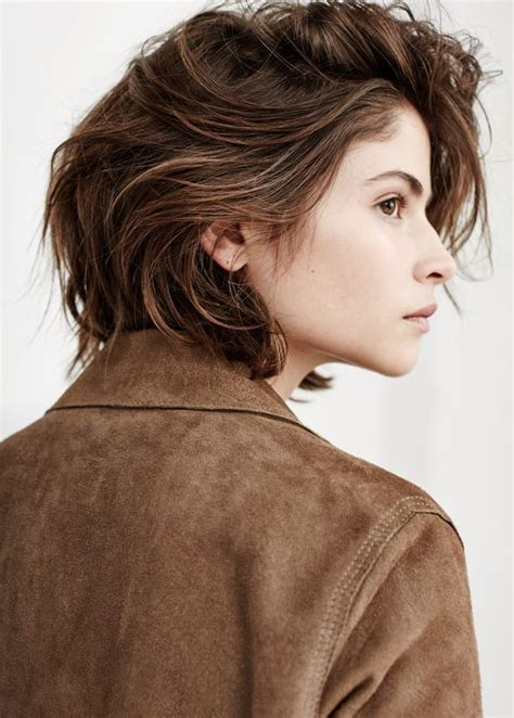 side view artsy in 2019 hair styles androgynous hair