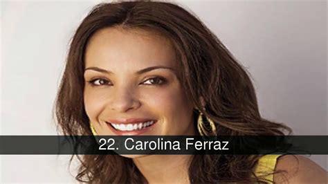 Top 40 Actrices Brasileñas De Telenovelas Youtube