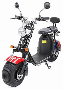 Elektro Online Shop 24 : elektroroller scooter eflux harley two 1500 watt eco wheel ~ Watch28wear.com Haus und Dekorationen
