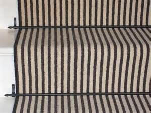 Black and White Stair Runner Carpet