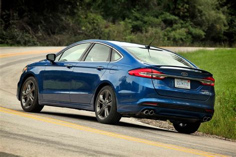 2017 Ford Fusion Sport Mpg by 2017 Ford Fusion Reviews And Rating Motor Trend