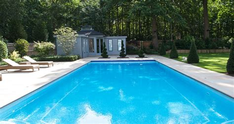 picture of swimming pool outdoor swimming pool construction design falcon pools surreyfalcon pools