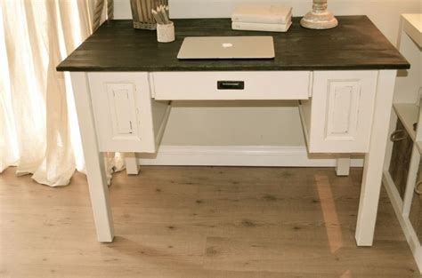 distressed wood computer desk farmhouse style computer desk distressed antique white