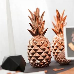 Objet Deco Ananas : grand ananas d co cuivre pinteres ~ Teatrodelosmanantiales.com Idées de Décoration