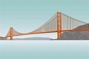 Golden Gate Bridge - Illustration