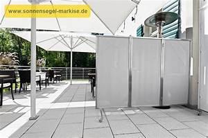 sichtschutz paravent sonnensegel markise With mobiler sichtschutz terrasse