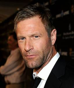 Aaron Eckhart... I like him, there is something in his ...