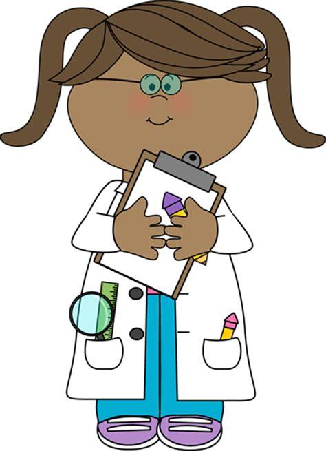 Scientist Clipart Scientist With Clipboard Clip Scientist