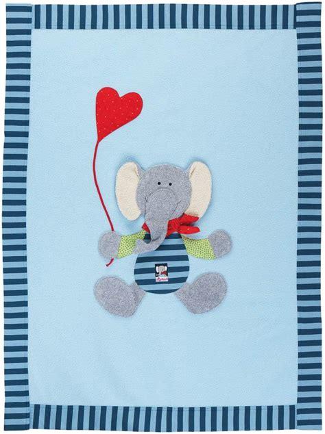 Sigikid Decke Elefant Lolo Lombardo » Krabbeldecke Jetzt