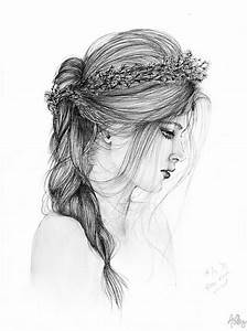 Flower crown girl by slippingspecs on DeviantArt ...