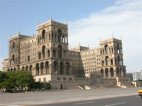 Bakı) is the capital of azerbaijan. Government House Baku - Legislative Building in Baku ...
