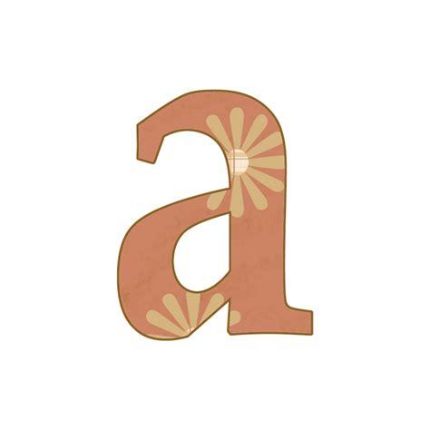 "Granny Enchanted's Blog ""tan Plaidaged Floral"" Png Lower Case Free Scrapbook Alphabet Letters"
