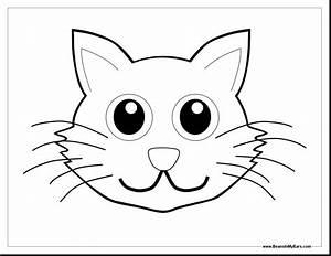simple, cat, face, drawing, at, getdrawings