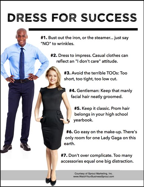tips  dressing  success  outreach