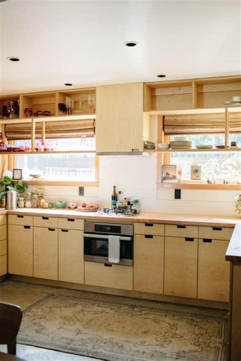 birch plywood kitchen cabinets residential s baird design 4637