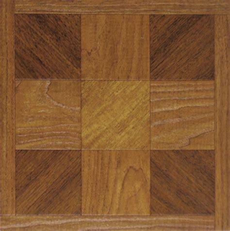 Brown Wood Vinyl Floor Tiles  Pcs  Adhesive Flooring