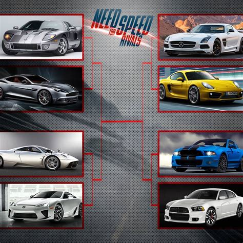 Need For Speed Rivals Cars List Walpaper