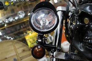 Motorcycle Front Passing Driving Turn Signal Spot Fog Lamp