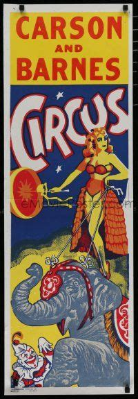 carson and barnes circus emovieposter auction history
