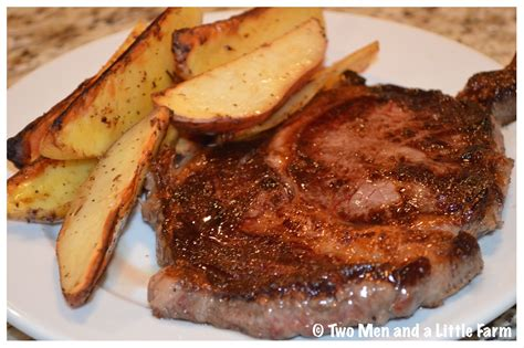 steak and potatoes two men and a little farm labor day 2016 and weekend update