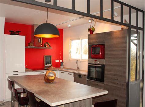 amenagement cuisine ouverte aménagement d 39 une cuisine ouverte à donzère realisations