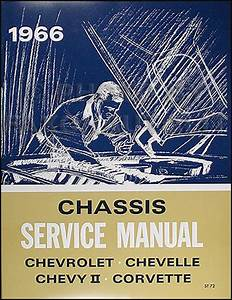 1966 Chevy Assembly Manual Reprint Impala  Ss Biscayne Bel