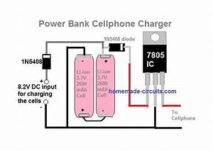 4 Simple Power Bank Circuits Explained