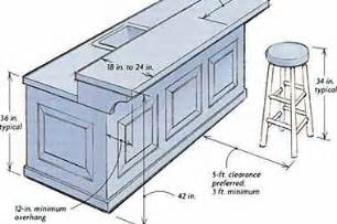 kitchen island width building a breakfast bar ehow