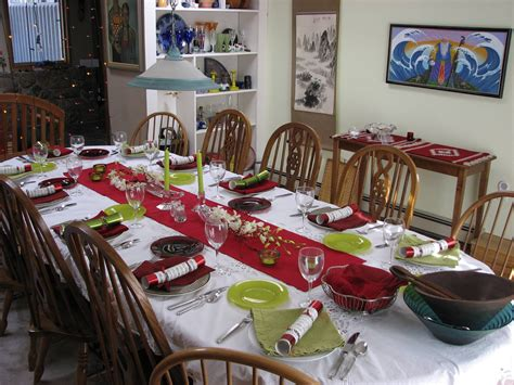 christmas table ideas  give    holiday