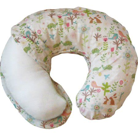 boppy pillow walmart boppy one sided cotton slipcover emilys garden walmart