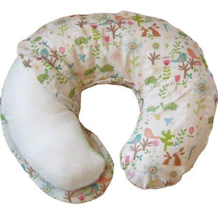boppy pillow cover boppy one sided cotton slipcover emilys garden walmart