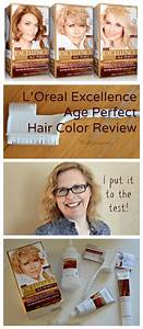 Reed Hair Color Chart L Oreal Excellence Age Perfect Hair Color Review I Put