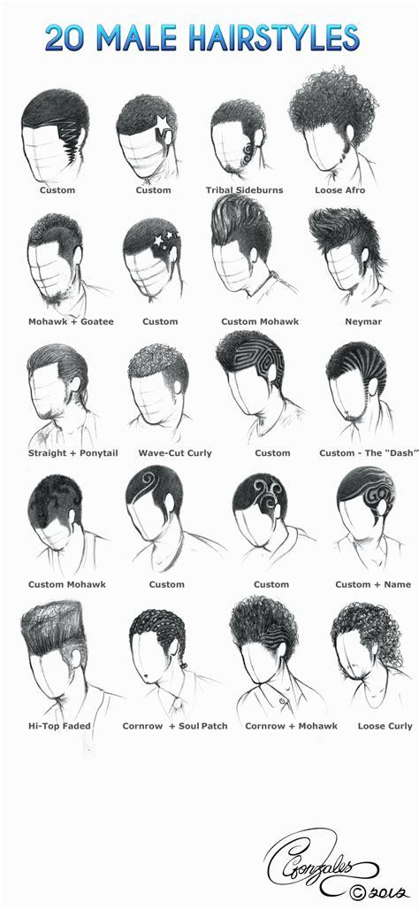 male hairstyles  gunzy  deviantart