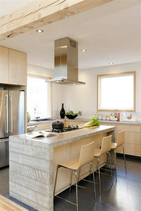 comptoir pour cuisine comptoir de cuisine blanc 52 idées élégantes avec du