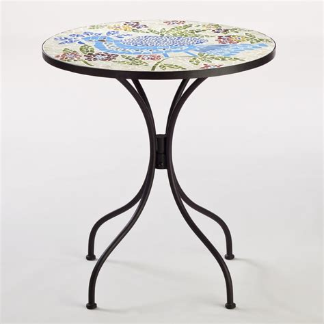 bird cadiz mosaic bistro table world market