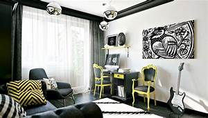 24 teen boys room designs decorating ideas design trends With interior design teen room study