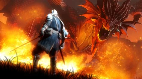 Dark Souls Desktop Backgrounds Full Hd Of Games Dark Souls Fire Dragon Desktop And Wallpaper High Resolution Pc Gipsypixel Com