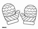 Mittens Coloring Mitten Gloves Winter Season Sheets Sheet Pattern Printable Drawing Hat Colouring Template Warm Mitts Getdrawings Colorings Knitted Getcolorings sketch template