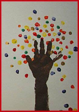 Herbst Baum Fenster by Ein Wunderbarer Herbst Fingerfarben Baum Diy Finger