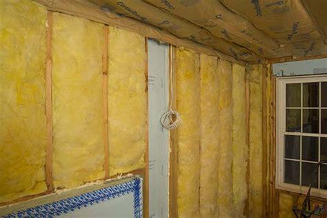 walk  basement wall insulation
