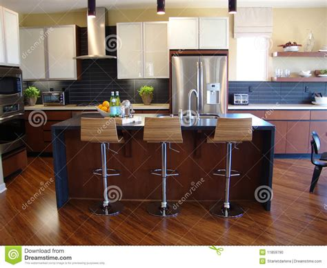 photos de belles cuisines modernes cuisine moderne photo stock image 11859790