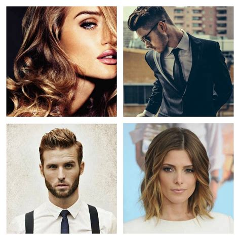 Coiffure Homme Femme