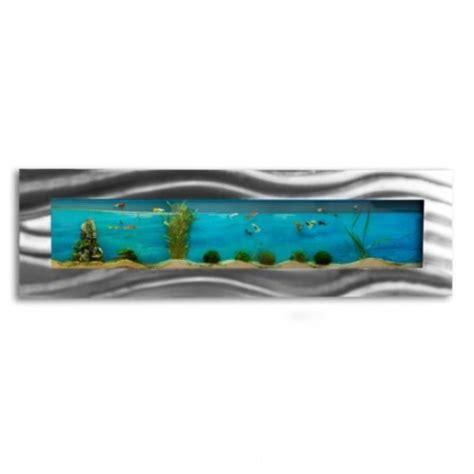 aquarium mural design pas cher 1200x445x110mm