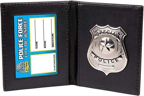 amazoncom kids pretend  play police wallet  badge