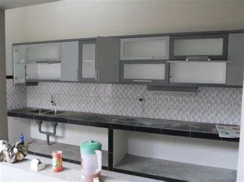 kitchen set atas kitchen set minimalis engsel pintu hidrolis furniture