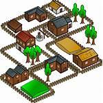 Map Village Symbol Clip Rpg Clipart Domain