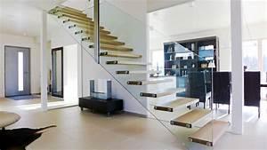 Bilder An Wand Kleben Ohne Rückstände : wundersch nen betontreppe mit holzstufen haus design ideen ~ Sanjose-hotels-ca.com Haus und Dekorationen