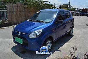 Used 2013 Suzuki Alto Blue Manual Transmission For Sale