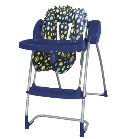 chaise haute balancelle 2 in 1 highchair baby swing blue navy highchairs