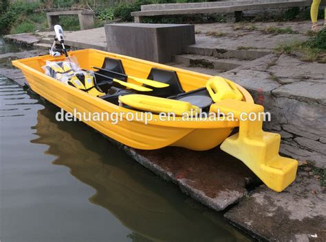 Plastic Fishing Boats by 7 Person Plastic Fishing Boat Rescue Boat Buy 7 Person
